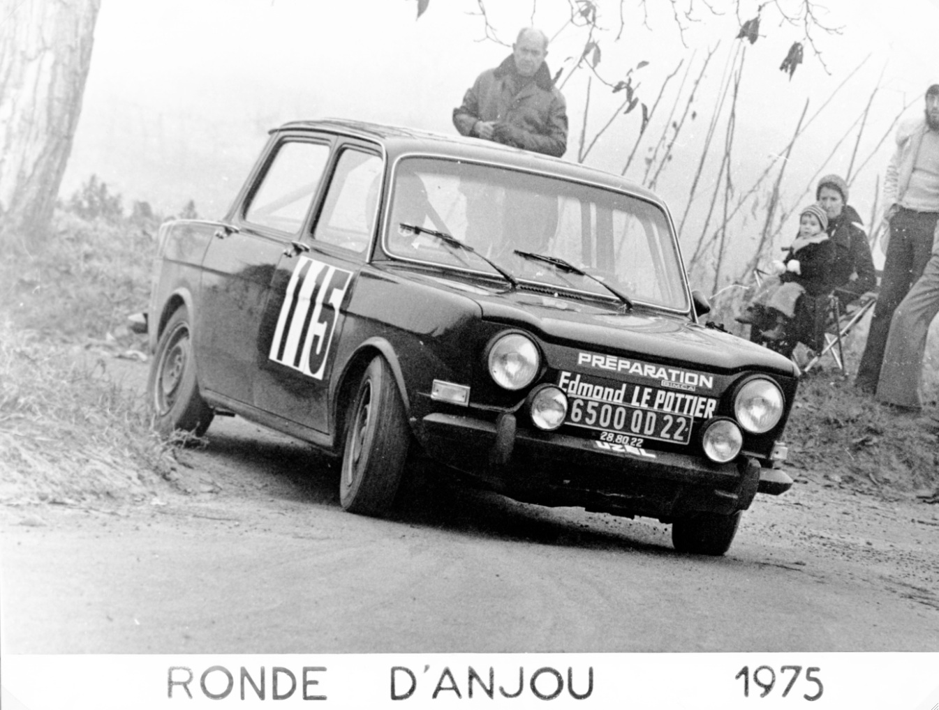 1975 SIMCA 1000 R2 FOURNIER-LAROQUE ANJOU 1