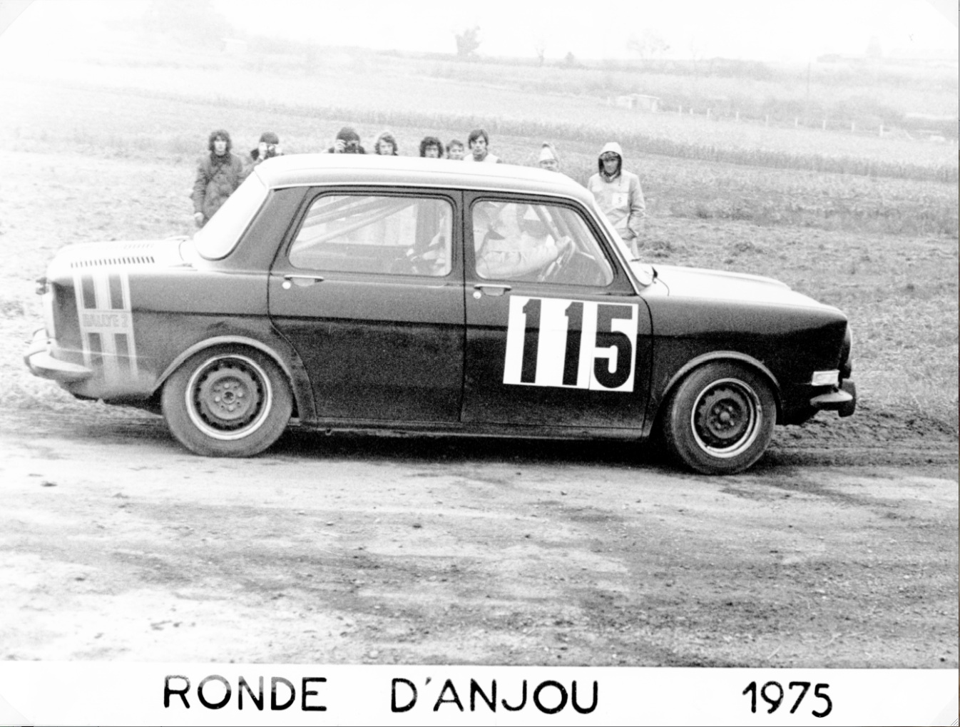 1975 SIMCA 1000 R2 FOURNIER-LAROQUE ANJOU 2