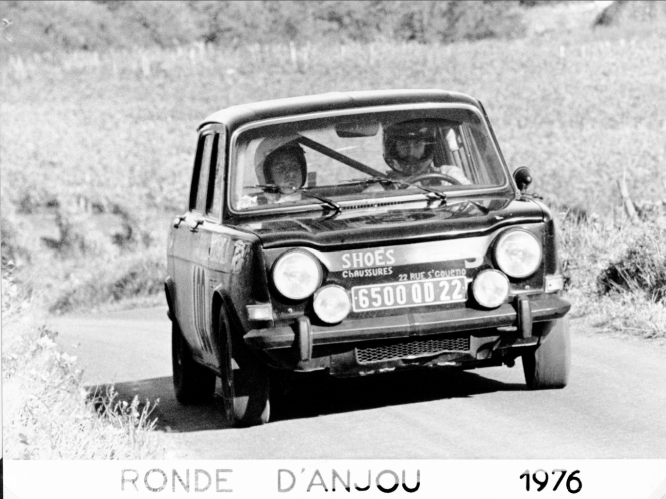 1975 SIMCA 1000 R2 FOURNIER-LAROQUE ANJOU 5