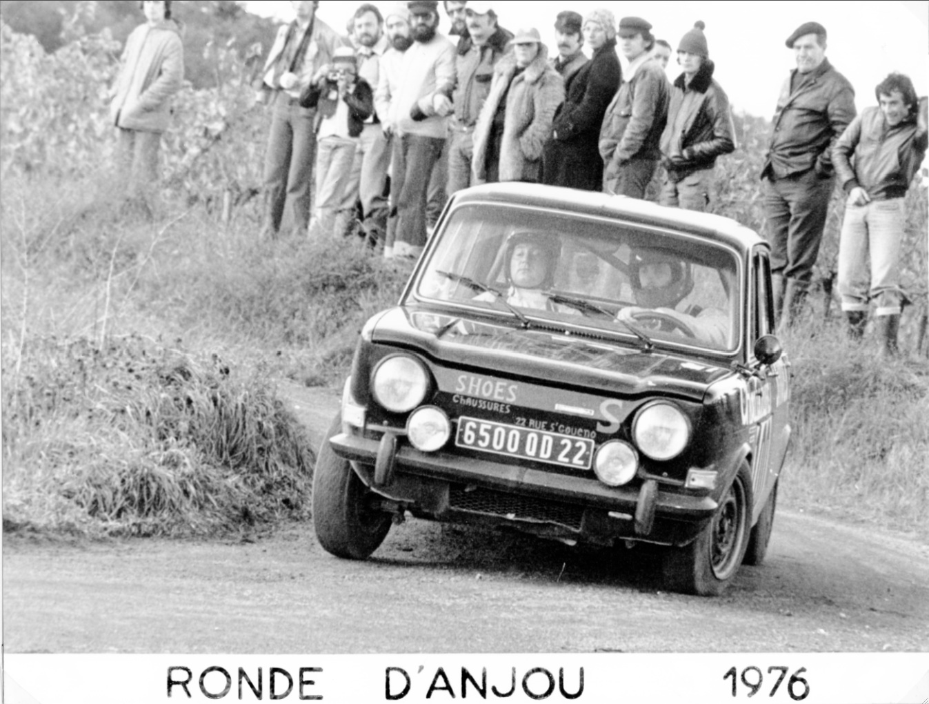 1975 SIMCA 1000 R2 FOURNIER-LAROQUE ANJOU 7
