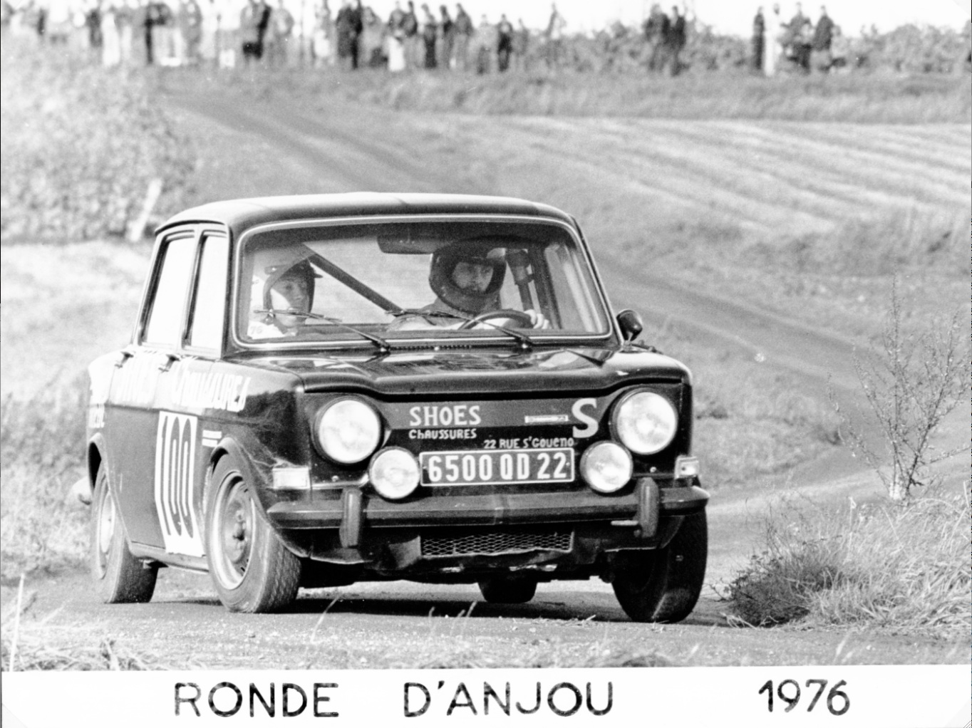 1975 SIMCA 1000 R2 FOURNIER-LAROQUE ANJOU 8