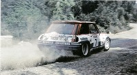1983 R5 TURBO TDC THERIER 8