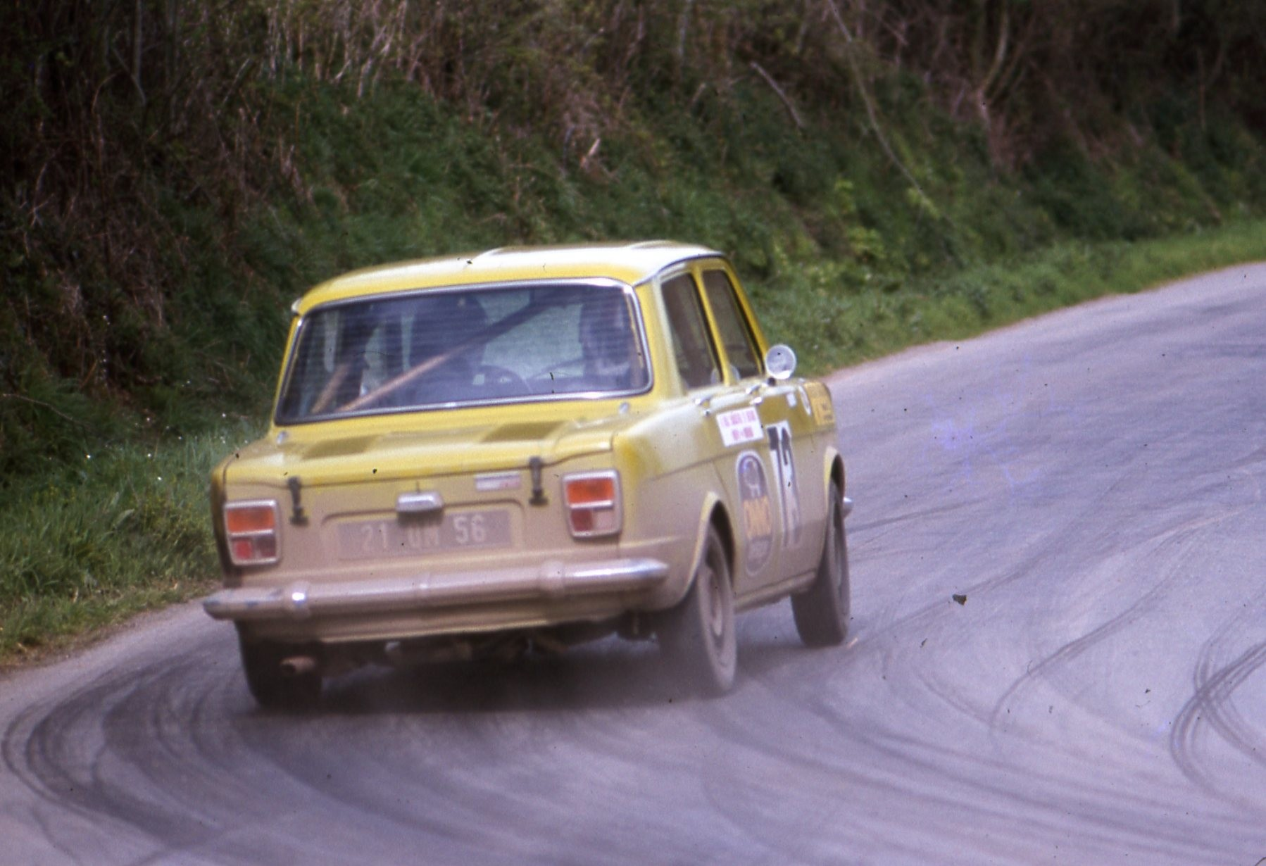 1978 SIMCA 1000 R2 CATTEAUX ARMOR