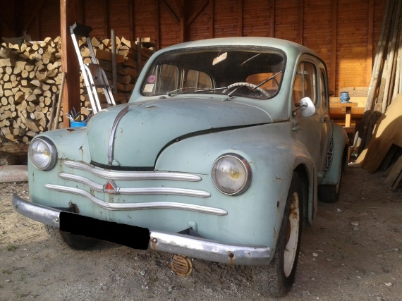 restauration renault 4cv restaurations anciennes. Black Bedroom Furniture Sets. Home Design Ideas