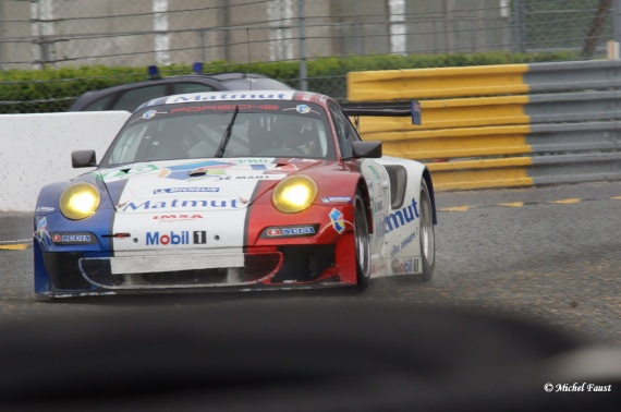 IMSA Performance Matmut Porsche 911 RSR (997) Pilet  / Curtis  / Edwards