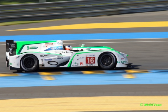 Pescarolo Team Pescarolo 03 Judd  Collard / Boullion / Hall Le Mans 2012