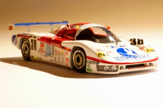 Dome Motorsport Toyota 85 C/L Elgh / Lees / Suzuki 	 Le Mans 1985 By Spark