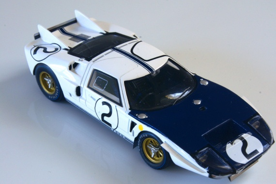 Shelby American Inc Ford GT 40 Mk II [107] Hill /  Amon le mans By Bizarre