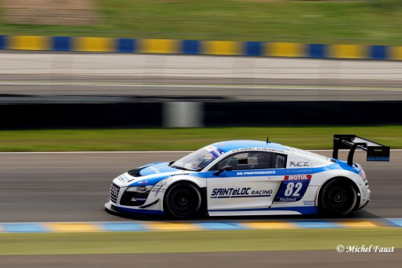 Saintéloc Racing Team Saintéloc Racing BR Performance Audi R8 LMS ultra QUINTOIS / JAMINET  GT FFSA