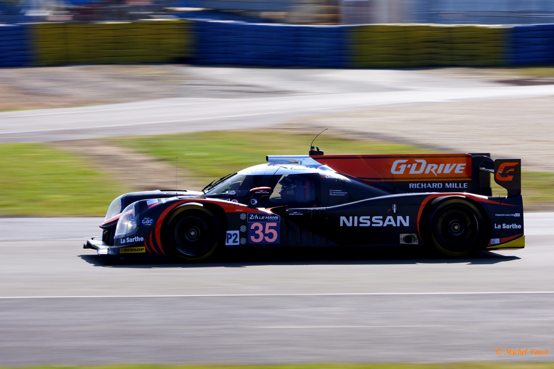 OAK Racing Ligier JS P2 Nissan - Brundle / Mardenborough / Shulzhitskiy - Le Mans 2014 test day