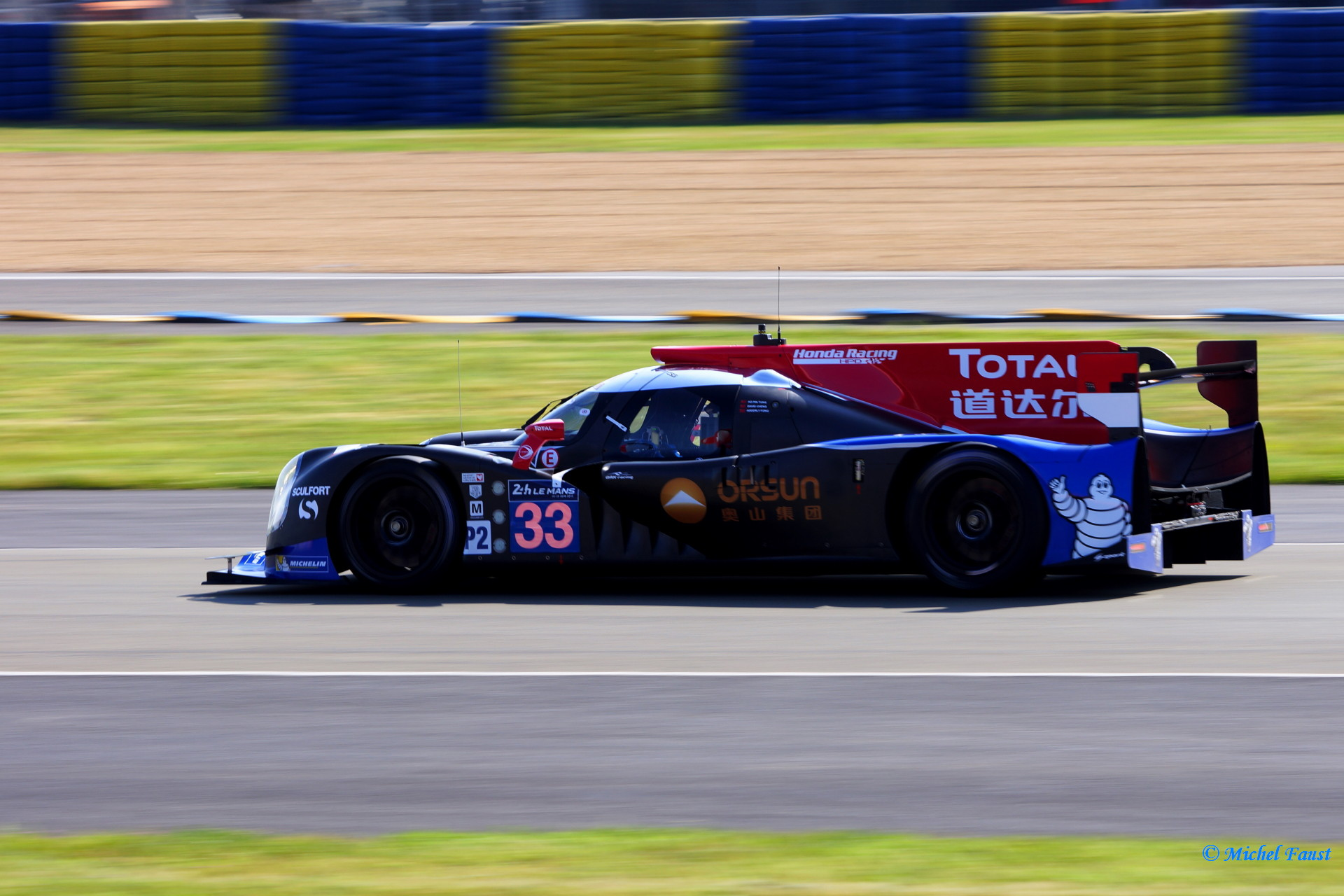 OAK Racing - Team Asia Ligier JS P2 HPD - Cheng / Tung / Fong _ Le Mans 2014 test day