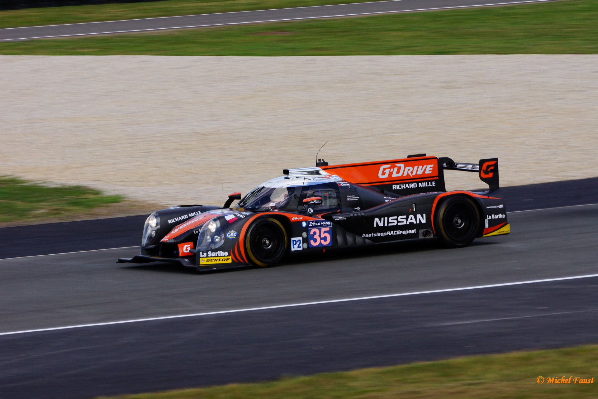 OAK Racing Ligier JS P2 Nissan - Brundle / Mardenborough / Shulzhitskiy - Le Mans 2014 Essais
