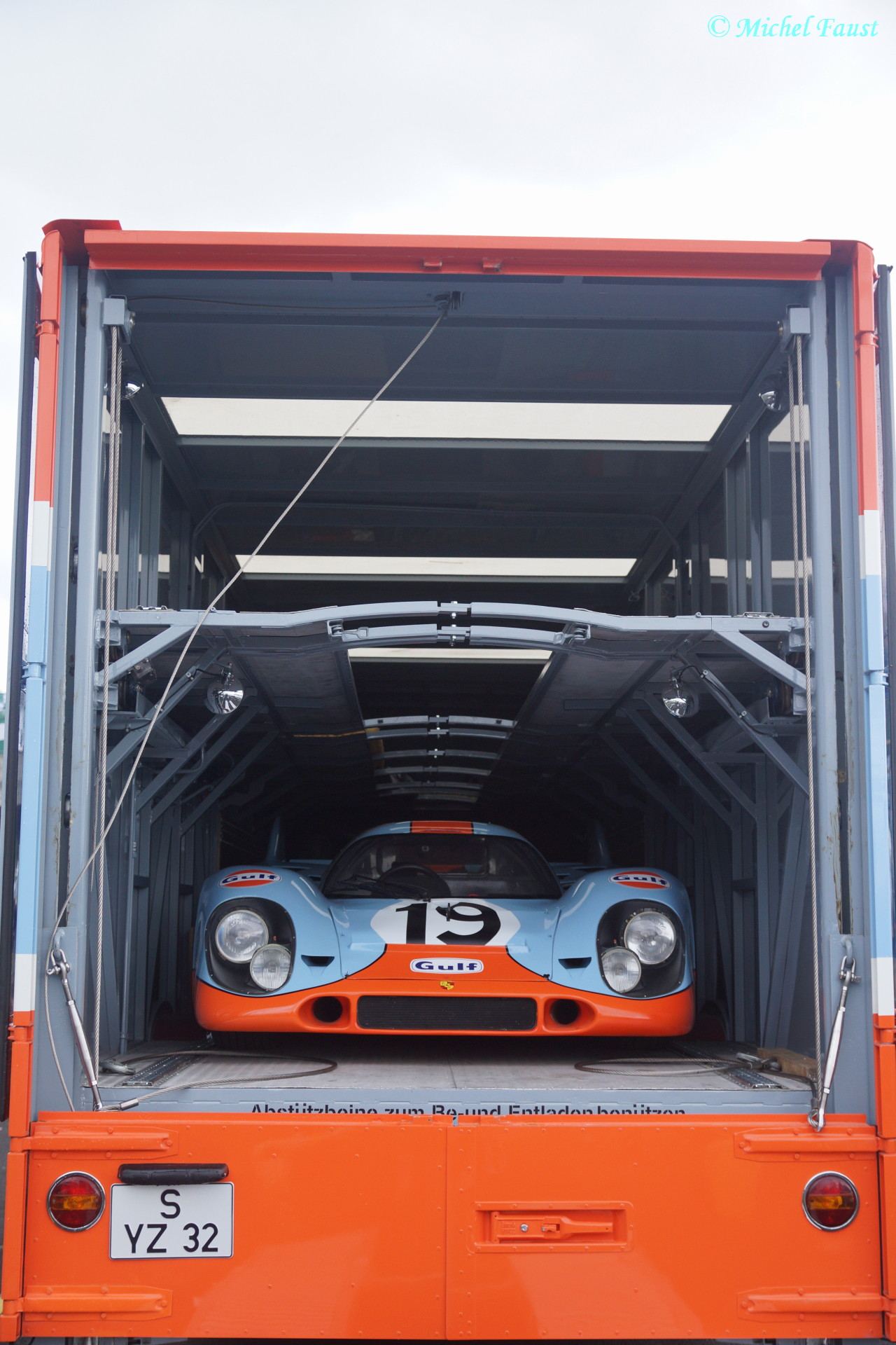 John Wyer Automotive Engineering Ltd. Porsche 917 K Le Mans 1971 / Le Mans Classic 2014