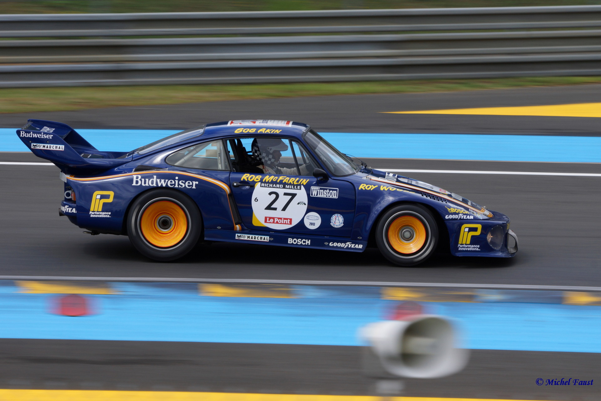 Dick Barbour Racing Porsche 935/78 Le Mans 1979 / Le Mans Classic 2014