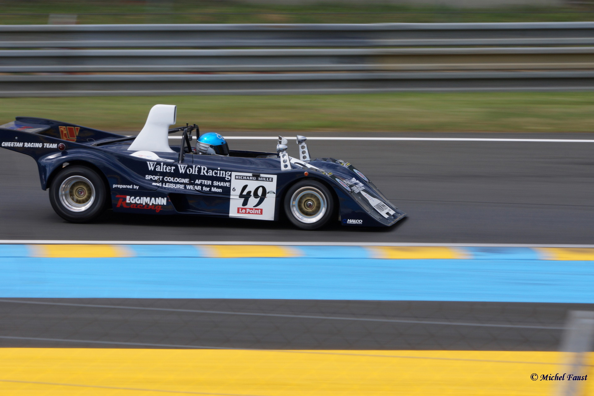 Racing Fans / Walter Wolf Racing Cheetah G 601 Le Mans 1980 / Le Mans Classic 2014