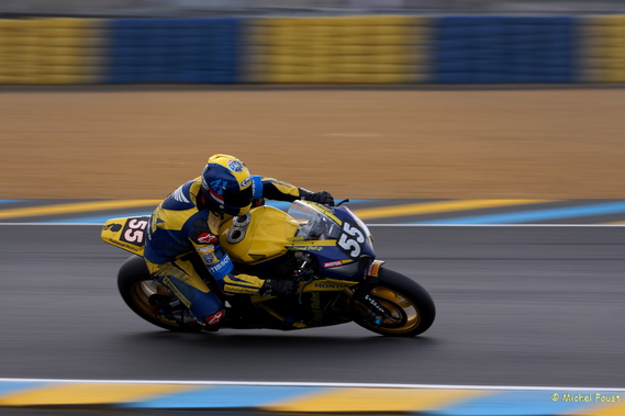 55 TEAM NATIONAL MOTOS - DEBISE / TIZON IBANEZ / FOUR / JUNOD - Honda CB R1000 RRSP - 24 heures du M