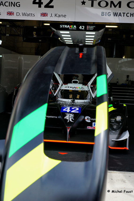 Strakka Racing Dome S103 Nissan - Leventis / Watts / Kane - test Day 24 heures du Mans 2015