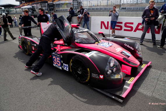 OAK Racing Ligier JS P2 Nissan - Nicolet / Merlin / Maris - Test Day 24 heures du Mans 2015