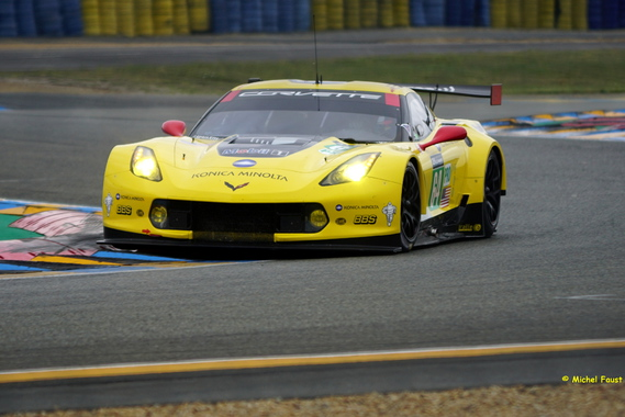 Corvette Racing - GM Chevrolet Corvette C7R - Gavin / Milner / Taylor - test day 24h du Mans 2015