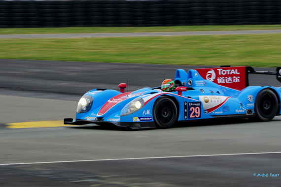 Pegasus Racing Morgan Nissan - -Roussel / Pin Tung / TungCheng - test day 24 h du Mans 2015