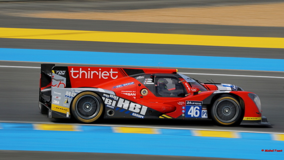 Thiriet by TDS Racing Oreca 05 Nissan - Thiriet / Badey / Gommendy - 24 h du Mans 2015 Course