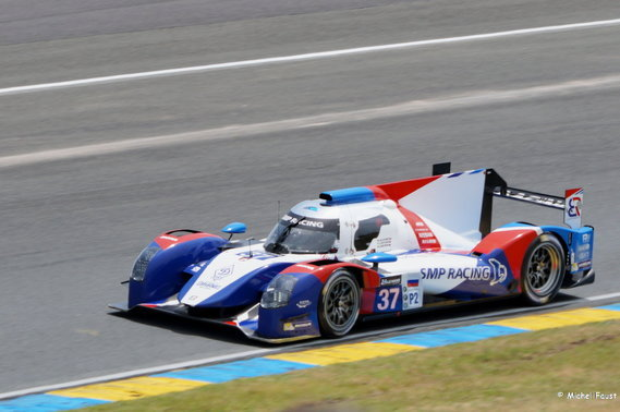 SMP Racing BR01 Nissan - Aleshin / Ladygin / Ladygin - 24 h du Mans Course