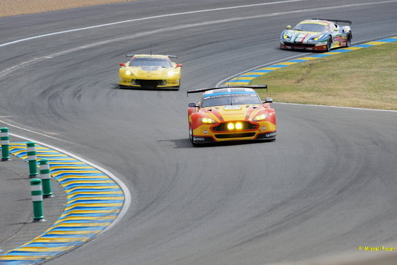 Aston Martin Racing Aston Martin Vantage V8 - Rees / MacDowall / Stanaway - 24 h du Mans 2015 Course