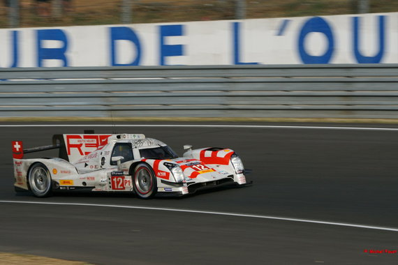 Rebellion Racing Rebellion R-One AER - Prost / Heidfeld /Beche- 24h du Mans 2015 Course