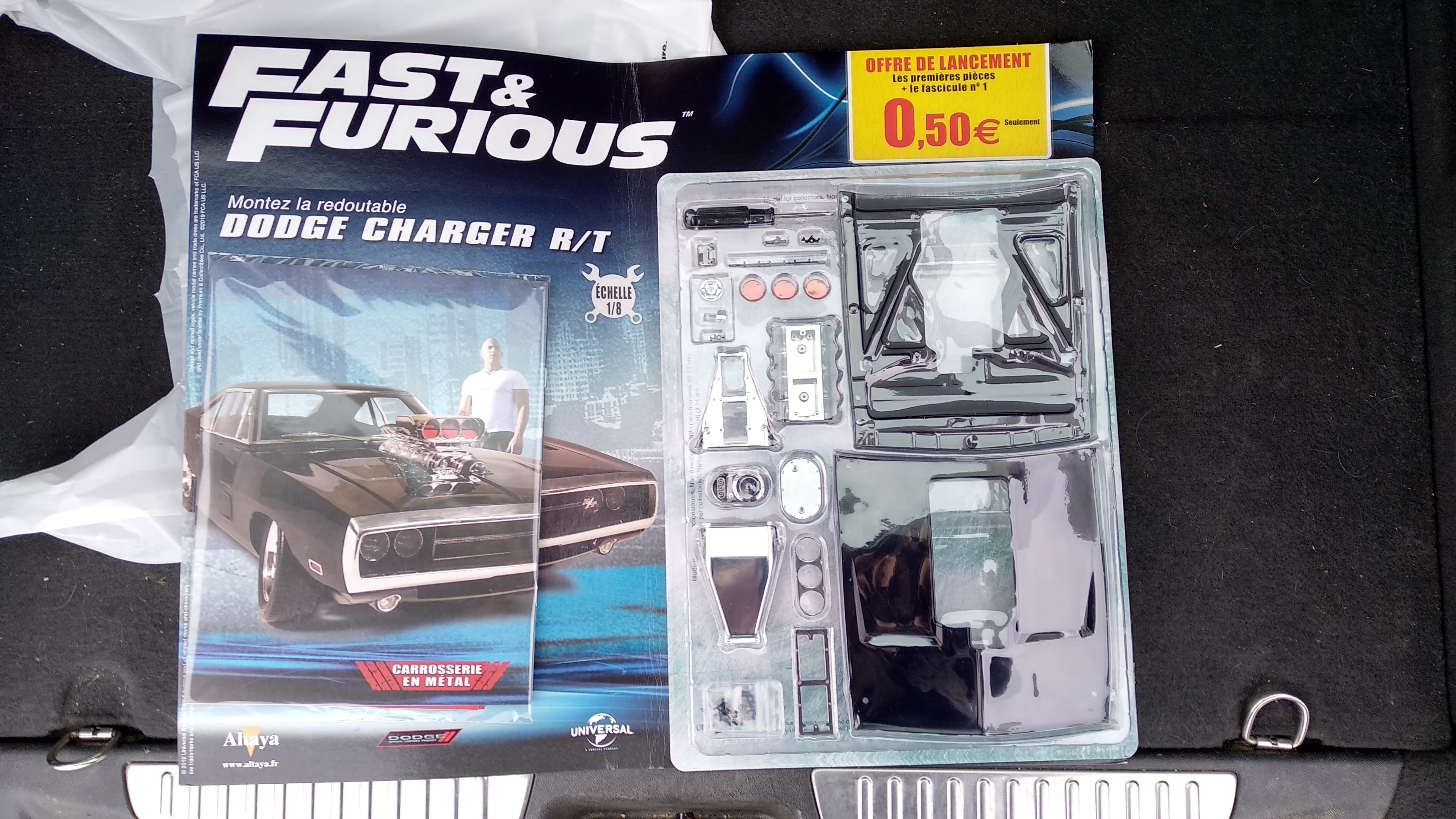 Dodge Charger RT Fast & Furious 1/8 Altaya