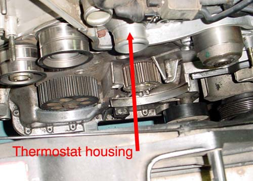 how to change a thermostat on mazda 3