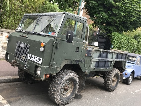 Land Rover Army