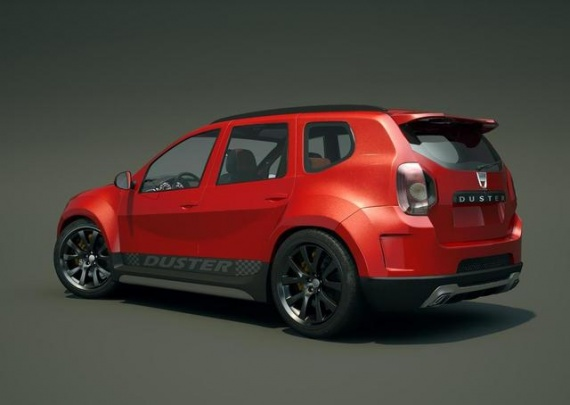 dacia duster look rs vue d 39 emsemble dacia folie photos club. Black Bedroom Furniture Sets. Home Design Ideas