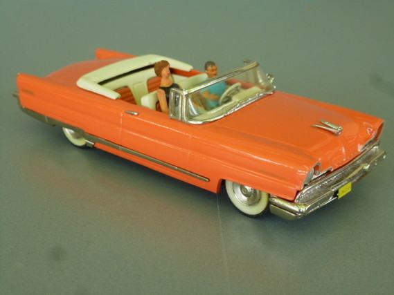 1956  Lincoln Première convertible Madison models