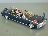 1962/63 Lincoln continental présidentielle Minichamps