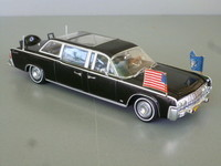 1962 /63 Lincoln continental Présidentielle Minichamps