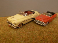 1952 Buick super Madison Models et Roadmaster DTF code 3