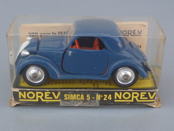 Simca 5 - Norev age d'or