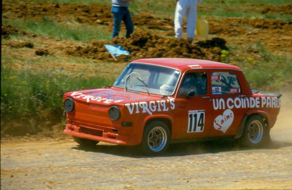Marville simca 1000 Virgil s