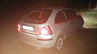 Rover 25 by night