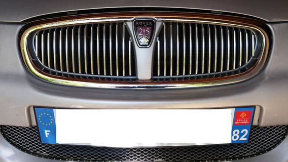 A little more chromium on the upper grill