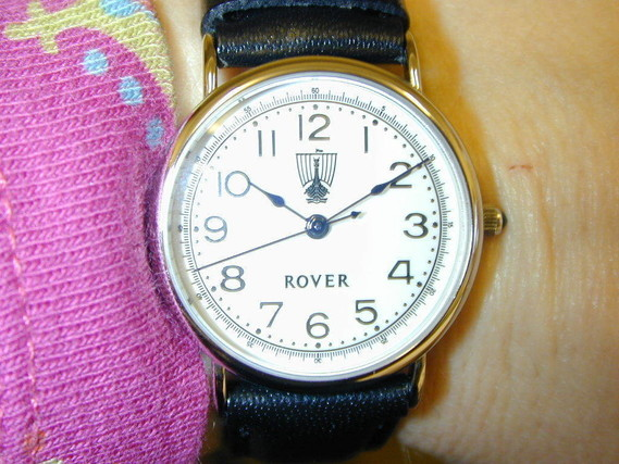 Genuine Rover wristwatch