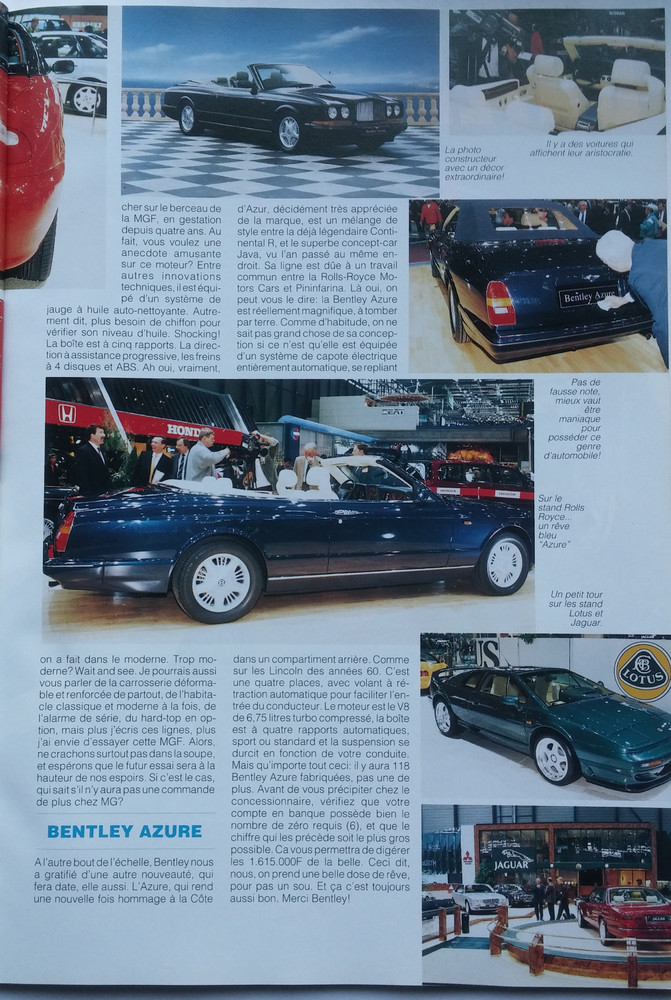 British Cars n°20 Avril-Mai 1995 p. 17