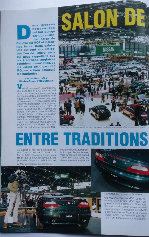 British Cars n°20 Avril-Mai 1995 p. 14