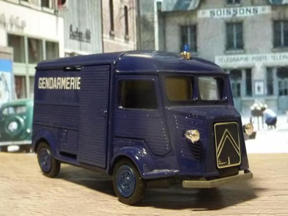 eligor citroen type h gendarmerie police cars from my collection luchiki photos club. Black Bedroom Furniture Sets. Home Design Ideas