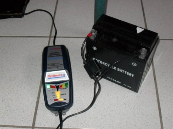 Chargeur batterie Optimate