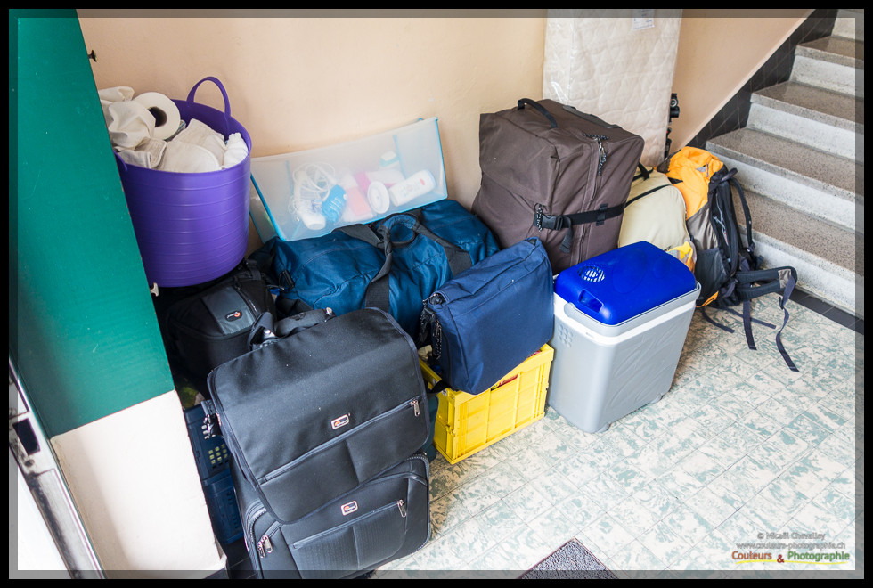 Bagages pour 2 semaines