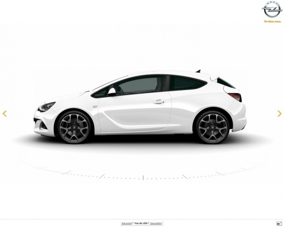 opel astra gtc opc blanc 20 pouces opc 2012 xierra. Black Bedroom Furniture Sets. Home Design Ideas
