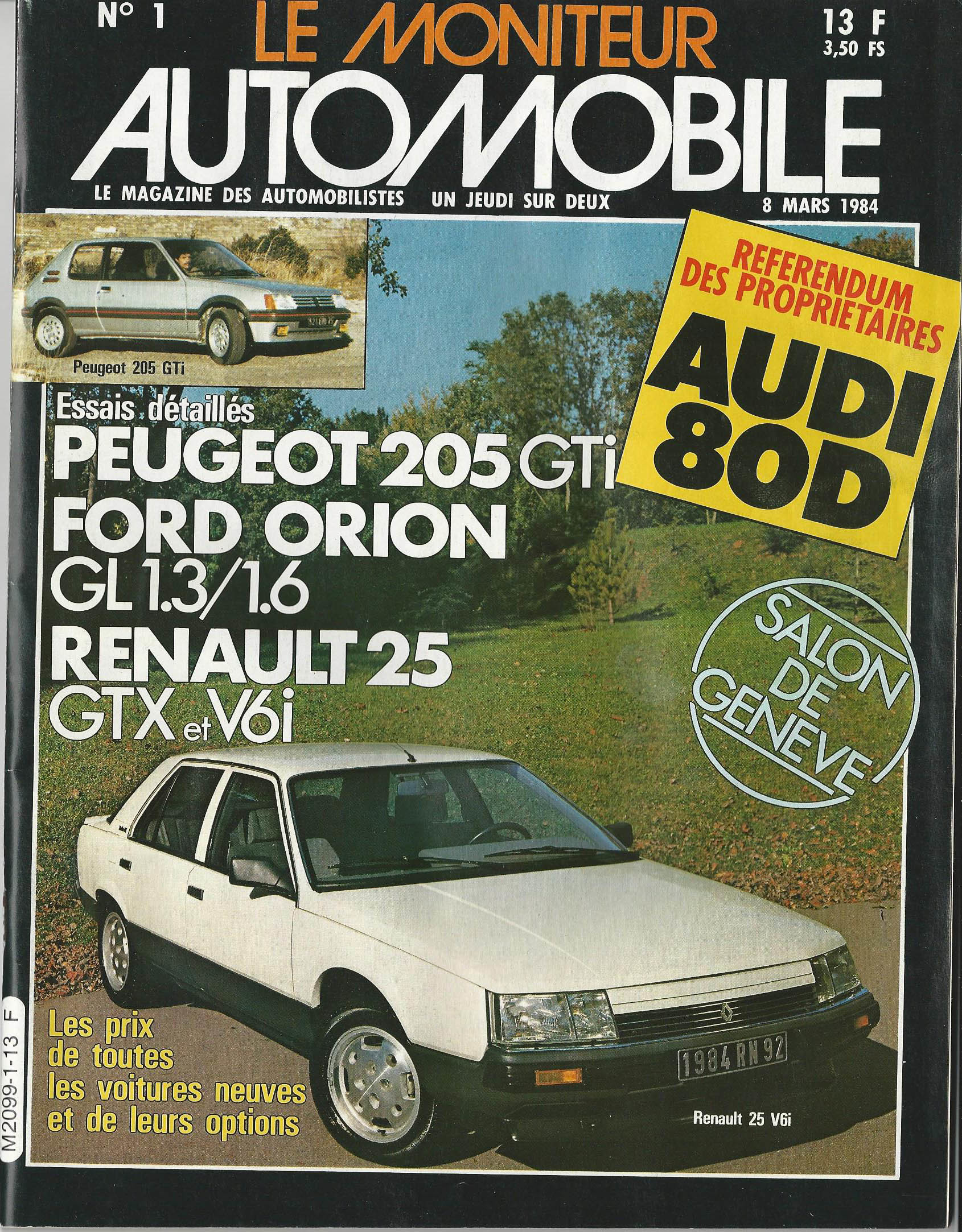 Moniteur Automobile 01 - 08 Mars 1984 (1)