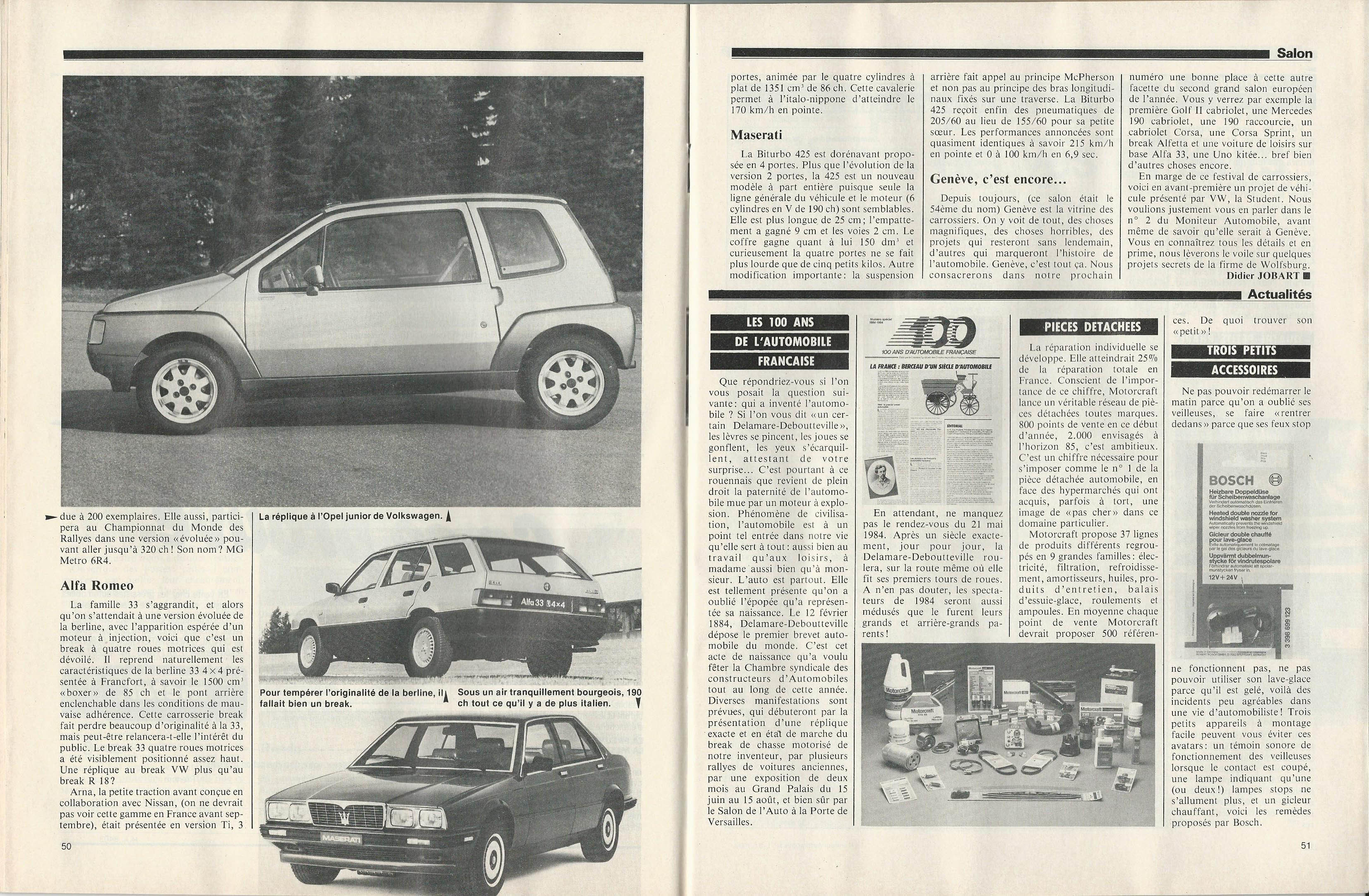 Moniteur Automobile 01 - 08 Mars 1984 (26)