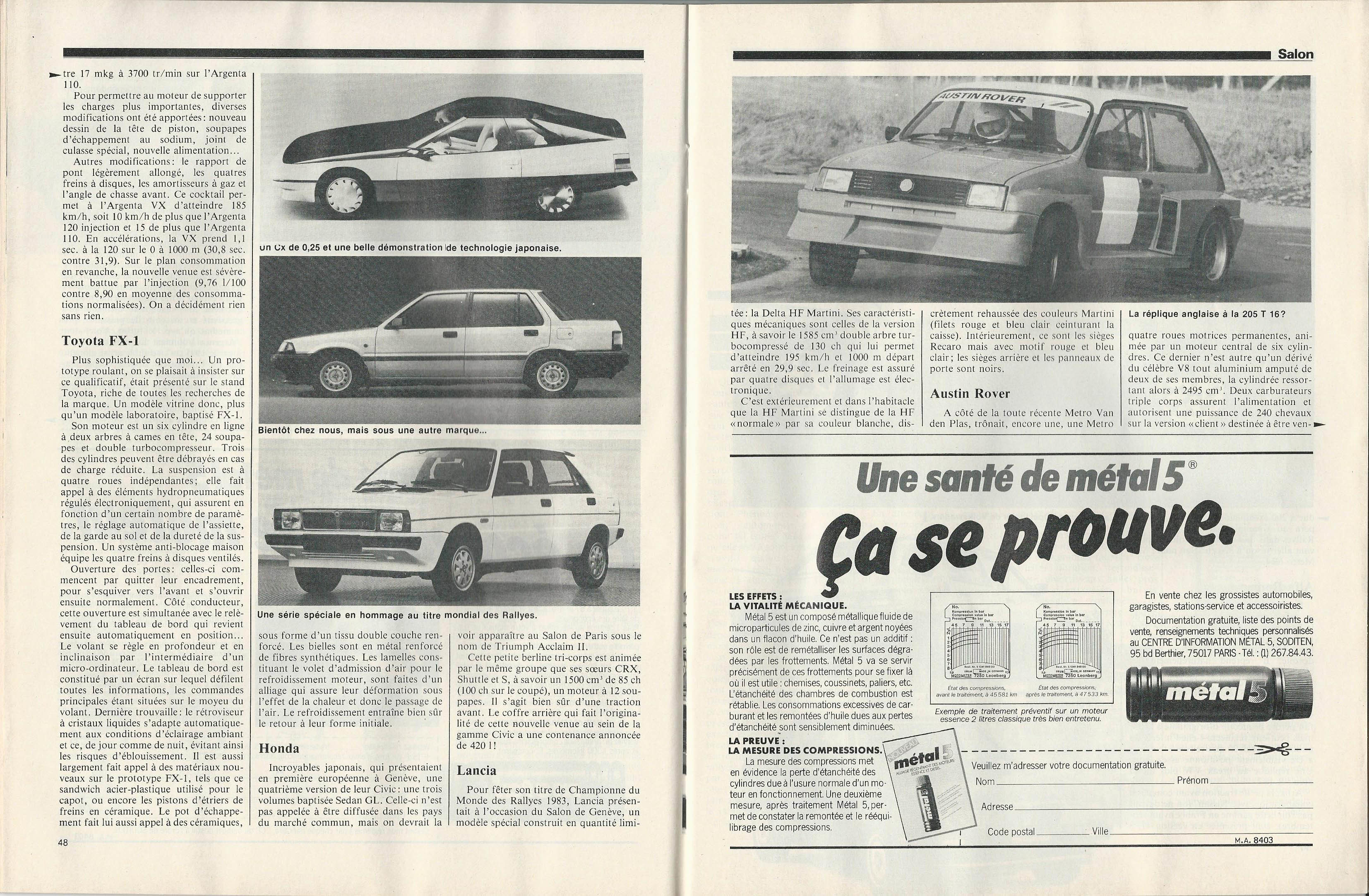 Moniteur Automobile 01 - 08 Mars 1984 (25)